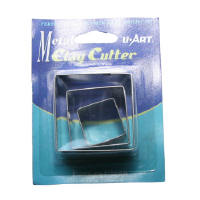 Tin Clay Cutter Square CC03S