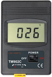 Digital Pyrometer Close View