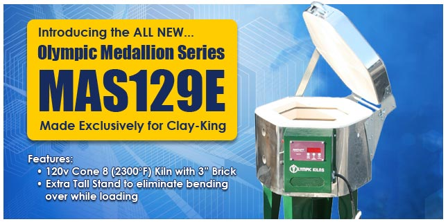 Olympic Medallion MAS129E a Clay King Exclusive