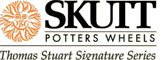 Skutt Thomas Stuart Pottery Wheel Logo