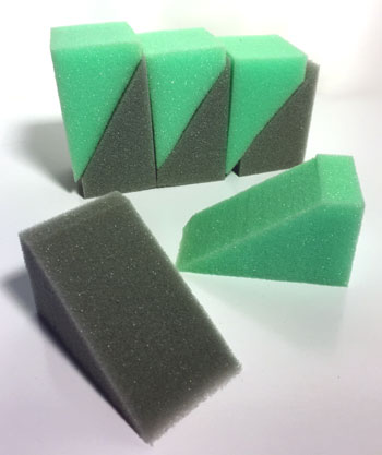 Clay Sponges - 12 count