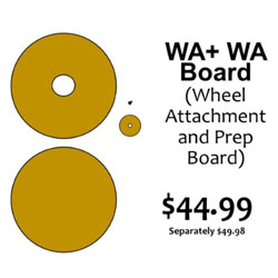 G.R. Pottery Forms WA Wheel Attachment with Spacer and Pin