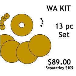 G.R. Pottery Forms WA Kit