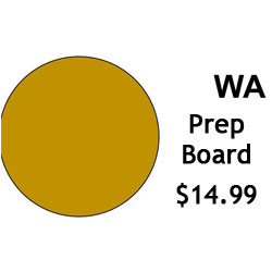 G.R. Pottery Forms WA Prep Board