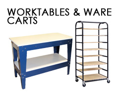 Worktables and Ware Carts