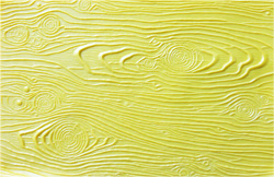 Yellow Wood Rubber Texture Mat