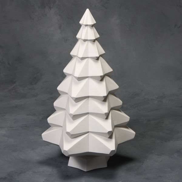 Mayco Mold CD004 14 inch Faceted Tree