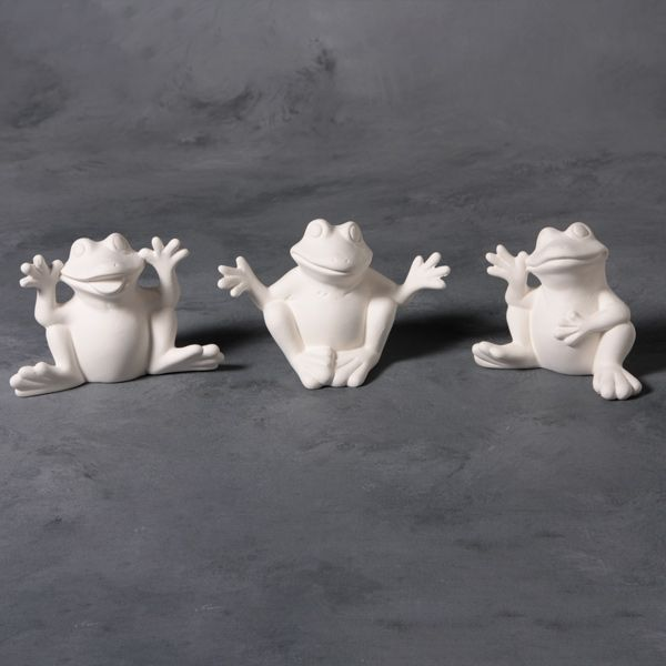 Mayco Mold CD876 3 Cute Frogs