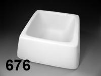 Square Pet Bowl