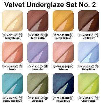 Velvet Underglaze Set #2