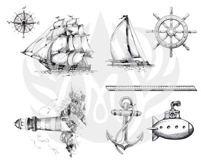 Mayco Designer Silkscreen DSS-100 Nautical