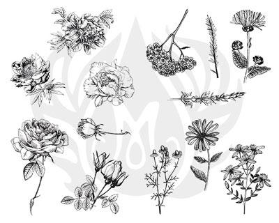 Mayco Designer Silkscreen DSS-112 Flowers