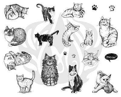 Mayco Designer Silkscreen DSS-120 Cats