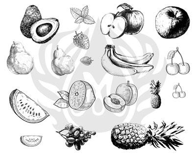 Mayco Designer Silkscreen DSS-121 Fruits