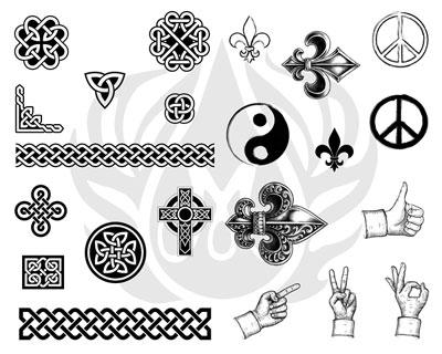 Mayco Designer Silkscreen DSS-123 Symbols