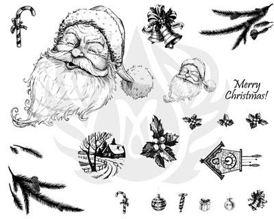 Mayco Designer Silkscreen DSS-133 Merry Christmas