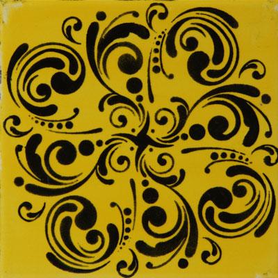 Mayco Designer Stencil SL-435 Curlicues