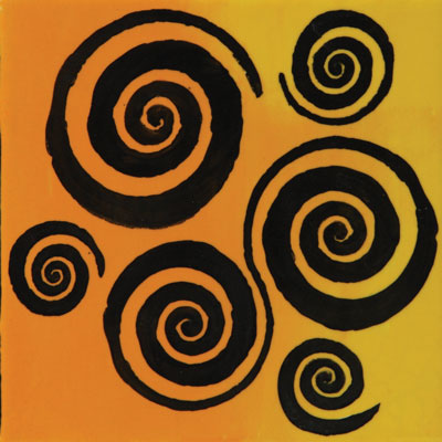 Mayco Designer Stencil SL-440 Twirls