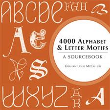 4000 Alphabet & Letter Motifs