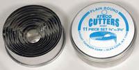 Ateco Plain Round Cutter Set