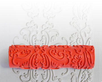 AR01 Baroque Clay Pattern Roller