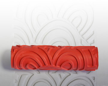 AR09 Nami Waves Clay Pattern Roller