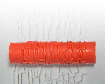 AR16 Crackle Clay Pattern Roller
