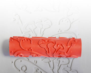 AR27 Morning Glory Clay Pattern Roller