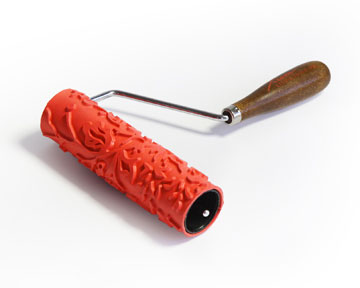 Clay Pattern Roller with Handle