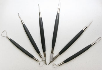 Potter's Trimming and Carving Tools 6pc