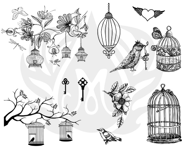 Mayco Designer Silkscreen DSS-141 Birdcage