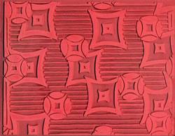 Pottery PTQ1 Rubber Texture Mat