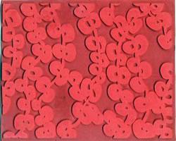 Pottery PTQ21 Rubber Texture Mat