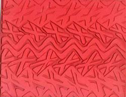 Pottery PTQ3 Rubber Texture Mat