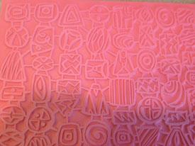 Pottery PTQ30 Rubber Texture Mat