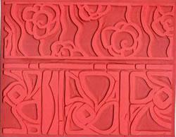 Pottery PTQ4 Rubber Texture Mat