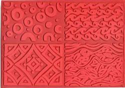 Pottery PTQ5 Rubber Texture Mat