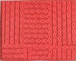 Pottery PTQ9 Rubber Texture Mat