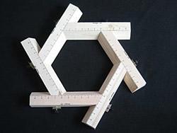 Adjustable Hexagon Mould