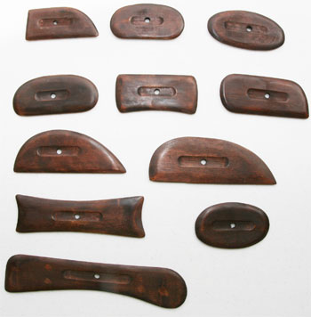 Wood Rib Set 11pc