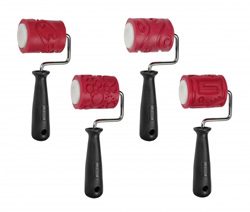 AMACO 2.5 inch Texture Roller Class Pack of 4