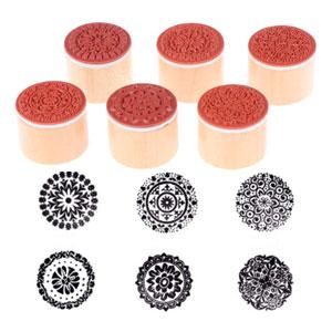 Artisan Circle Stamp 6 pack
