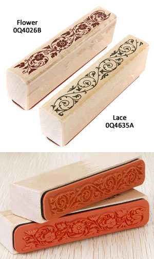 Artisan Flower and Lace Stamps