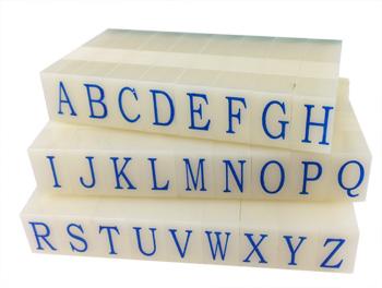 Artisan 613 Rubber Letter Stamp Set 11/32 inch