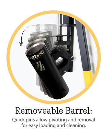 Brent Extruder HD Removable Barrel