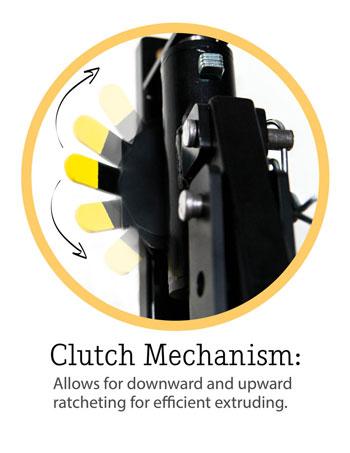 Brent Extruder HD Clutch Mechanism
