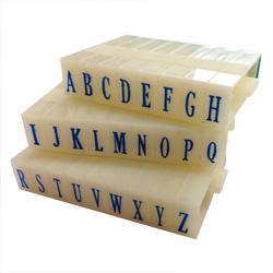 Artisan 615 Rubber Letter Stamp Set 3/16 inch