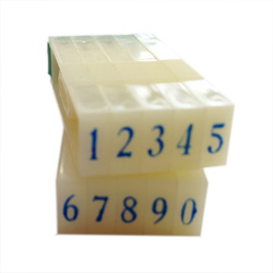 Artisan 626 Rubber Number Set 5/32 inch