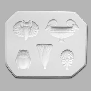 Mayco Mold CD-1218 Egyptian - 5 designs