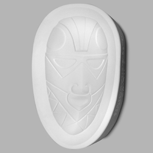 Mayco Mold CD-911 African Mask (Oval)
